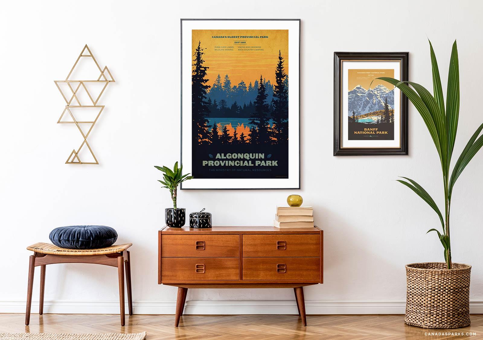 Algonquin Park and Banff prints