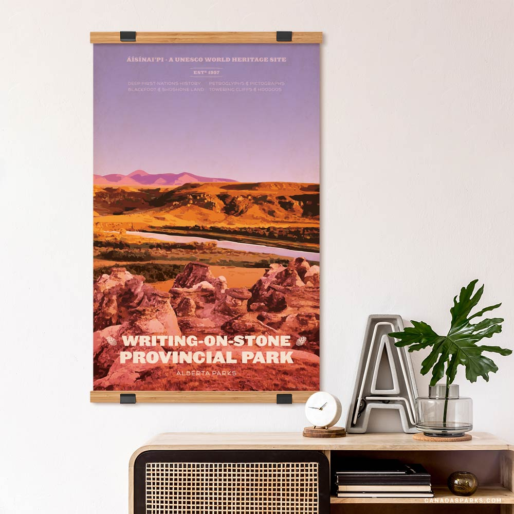 Writing-on-Stone Provincial Park print